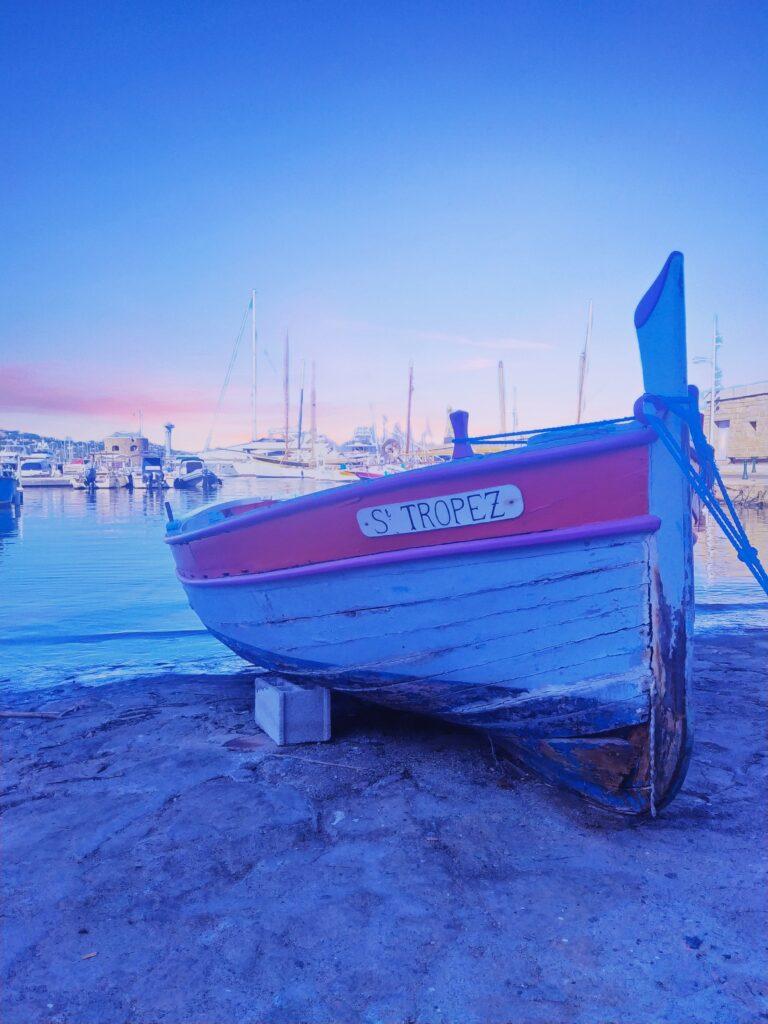 Saint Tropez in agosto