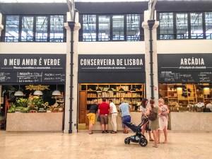 Lisbona Mercado da Ribeira