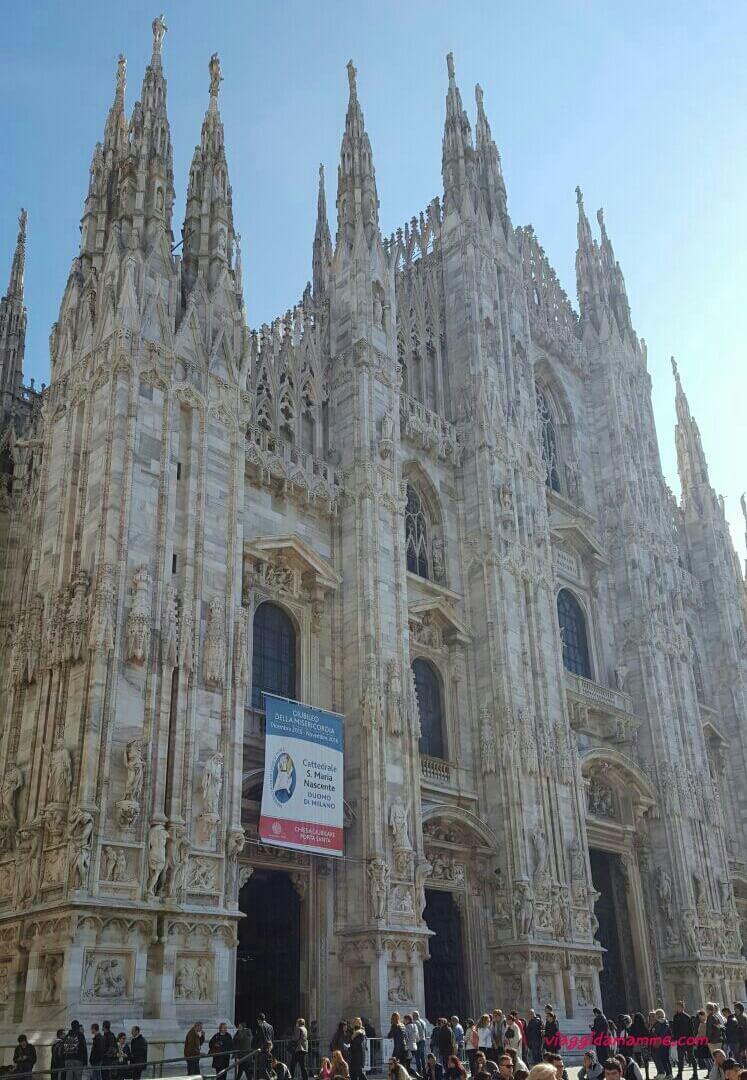 Gita in cima al Duomo di Milano-VIAGGI DA MAMME