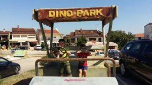 Croazia con i bambini -Dino Park Funtane