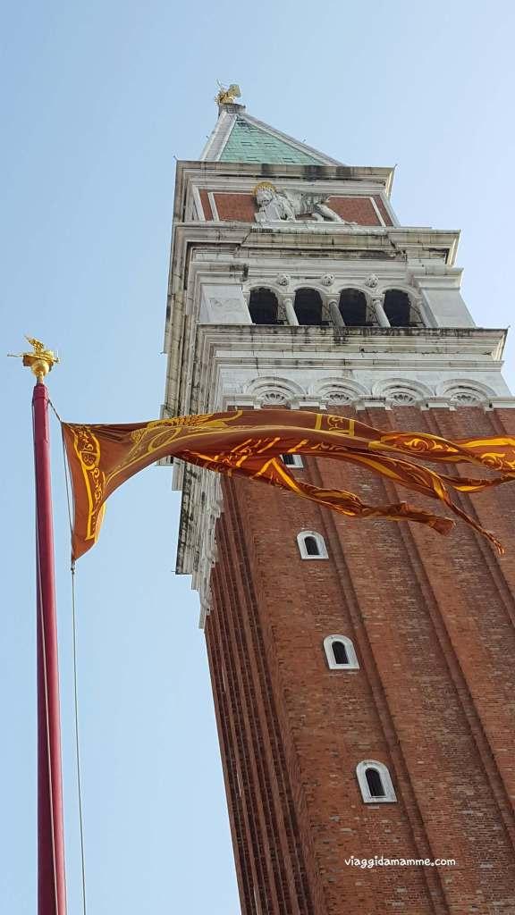 Cosa vedere a Venezia con i bambini in tre giorni - Campanile di San Marco -