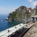Come visitare le Cinque Terre con i bambini - panorama dalla torre, Vernazza -
