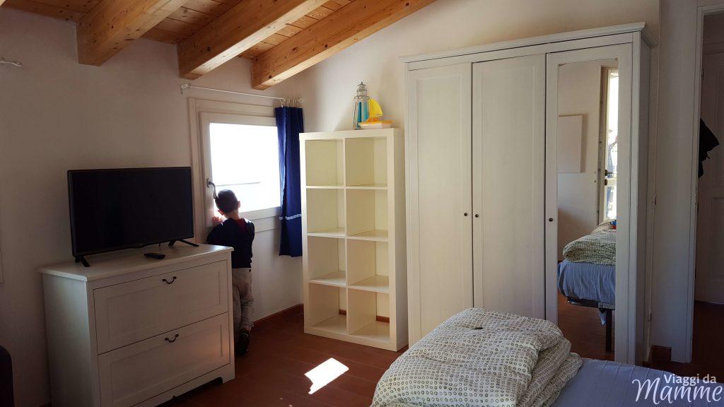Dove dormire a Levanto con bambini: Casa Vacanze San Giacomo -camera matrimoniale-