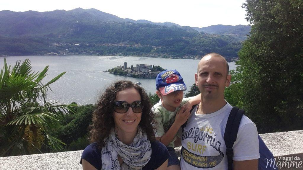 Gita al Lago d'Orta con bambini: Orta e Isola di San Giulio -vista dal Sacro Monte-