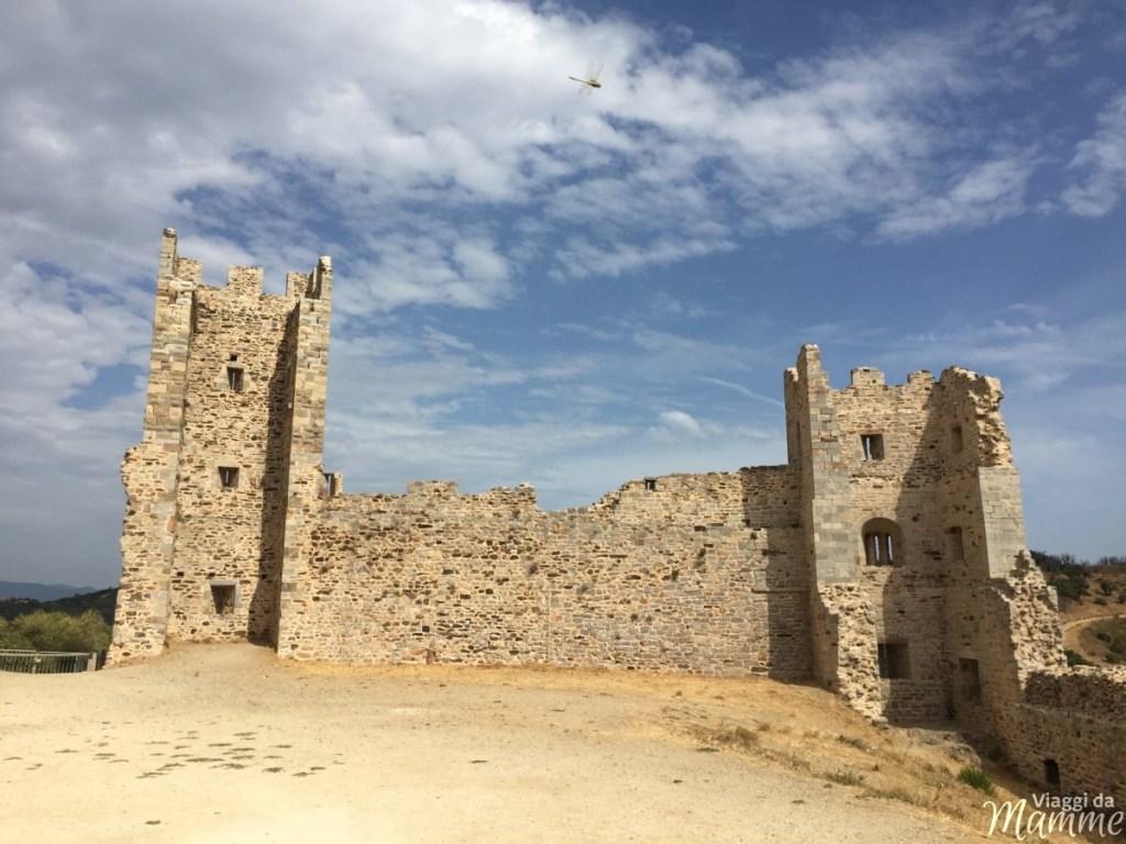 Vacanza tra Costa Azzurra e Provenza con bambini -Le rovine del Castello Medioevale di Hyères-