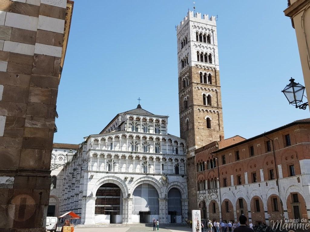 Cosa visitare a Lucca in un giorno con bambini -Cattedrale di San Martino-
