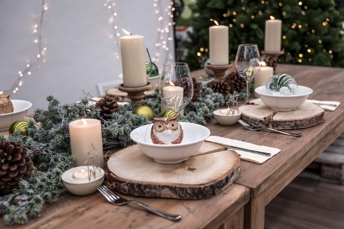 Decorazioni Da Tavola Natalizie : Come apparecchiare la tavola di natale decori e abbinamenti