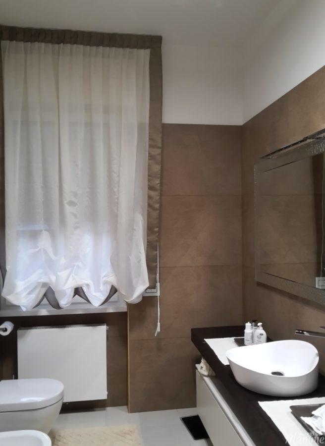Particolari tende per il bagno