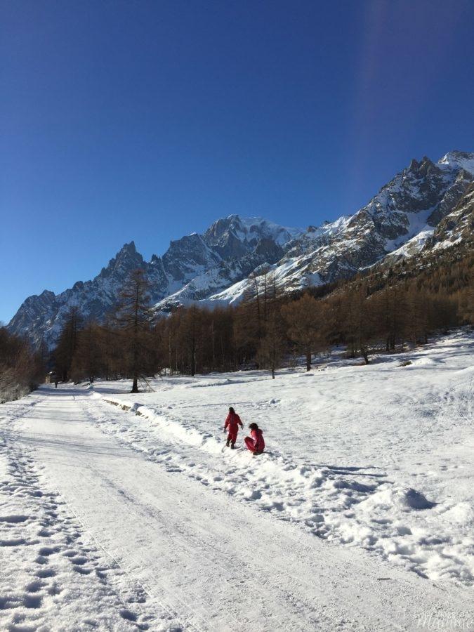 Cosa vedere in Valle d'Aosta con bambini: Courmayeur e dintorni -Monte Bianco dalla Val Ferret-