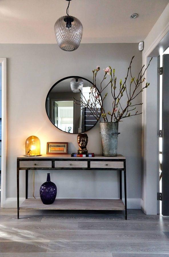 Ingresso moderno e minimal
