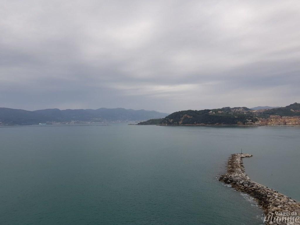 Golfo dei Poeti Lerici: cosa fare e cosa vedere in un giorno - panorama dal Castello di Lerici