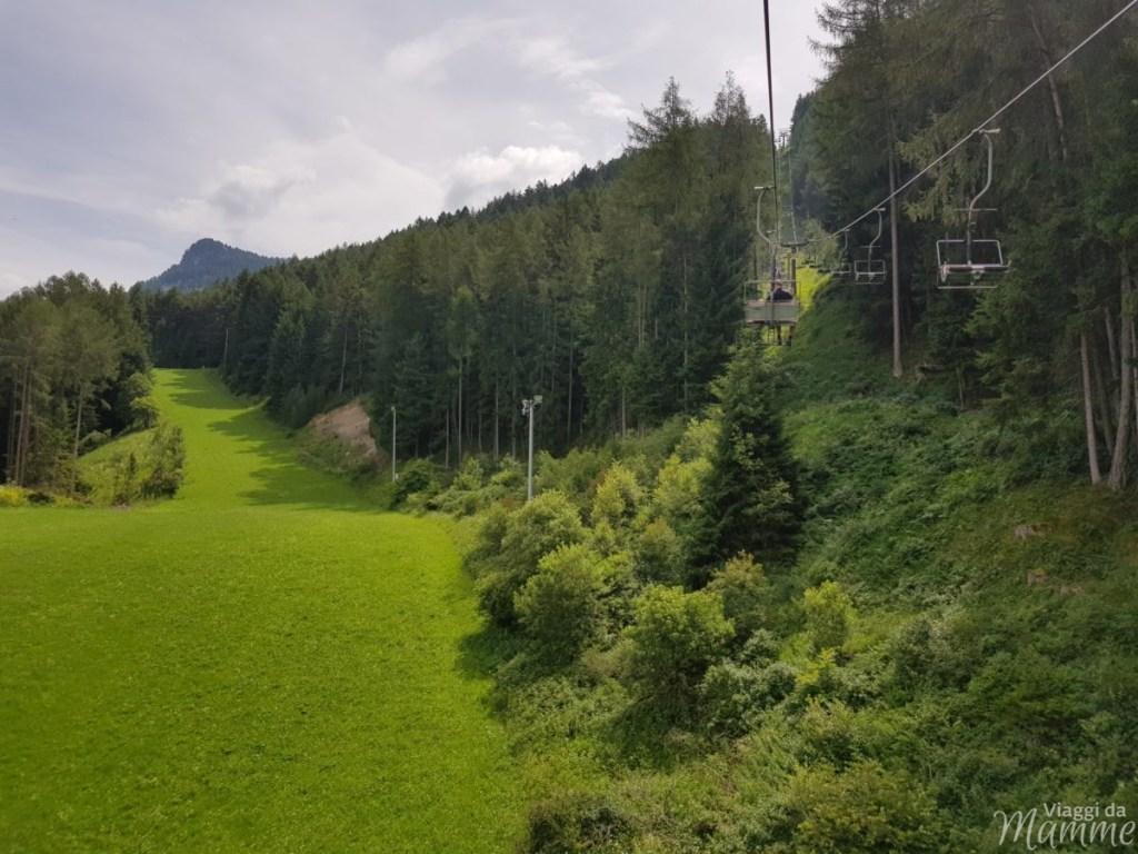 Marinzen: la piccola Alpe ideale per bambini sopra Castelrotto -seggiovia Marinzen-