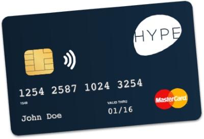 Carta Hype, la prepagata ricaricabile che uso in viaggio