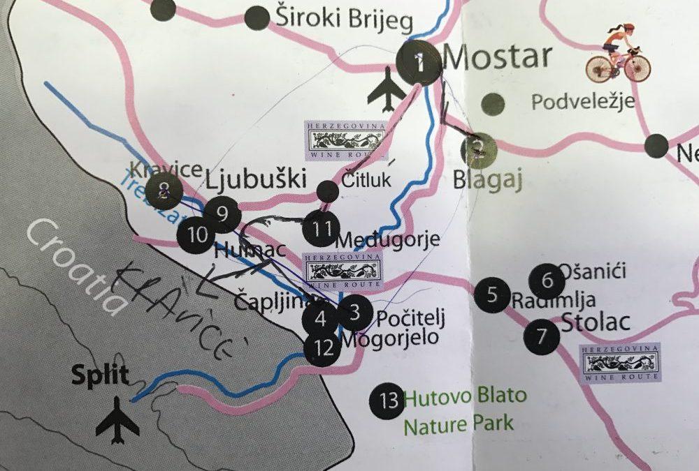Il nostro itinerario in Bosnia nei dintorni di Mostar