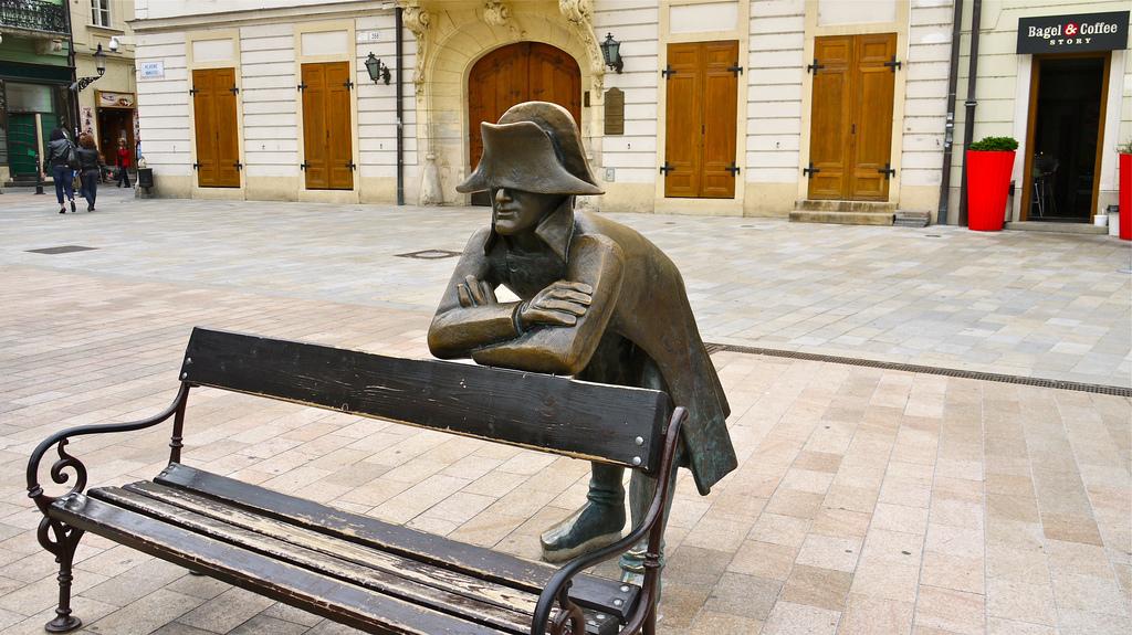 statue di Bratislava, il soldato napoleonico