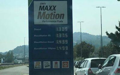 Prezzi della benzina in Slovacchia, una spesa fattibile