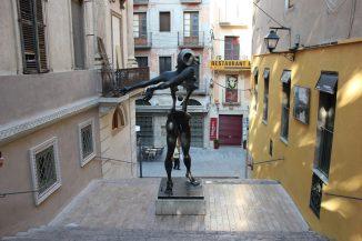 Statua di Dalì a Figueres