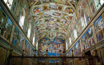 Il Virtual Tour della Cappella Sistina