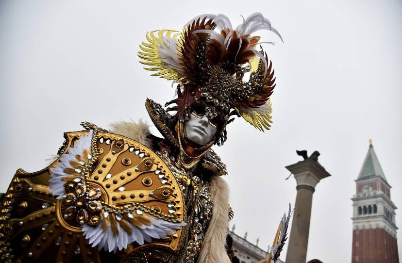 Carnevale di Venezia ecco le maschere pi belle del 2016  FOTO  ViaggiNewscom
