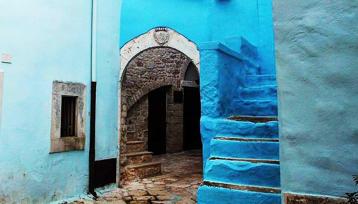 Casamassima in Puglia  il borgo colorato dazzurro pi