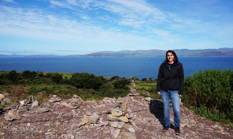 tappa del tour del Ring of Kerry in bus