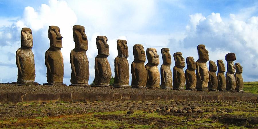 I giganti di pietra dell'Isola di Pasqua