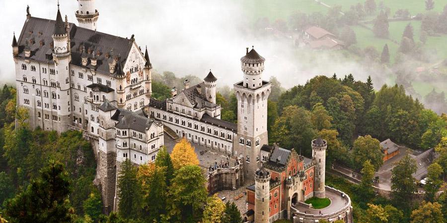 Luigi II di Baviera, il costruttore di castelli