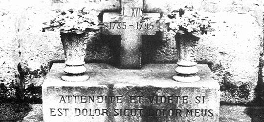 La finta morte del Delfino di Francia