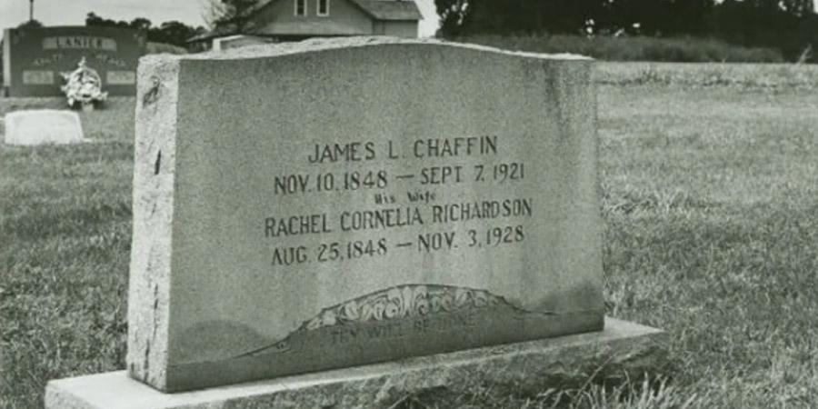 Il testamento perduto di James Chaffin