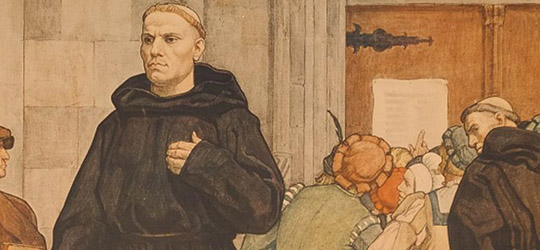 Martin Lutero Tesi Protestantesimo