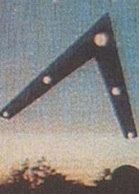Formazione a Triangolo UFO - Boomerang della Valle dell'Hudson