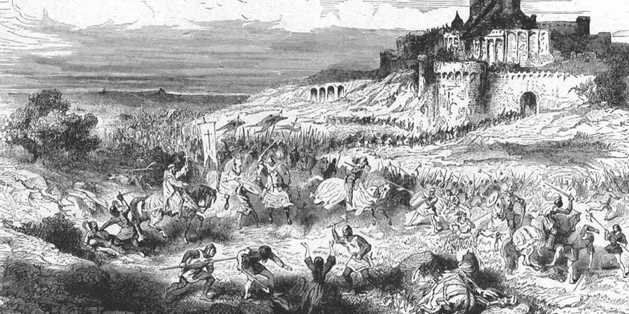 Il massacro di Béziers e la crociata contro gli Albigesi