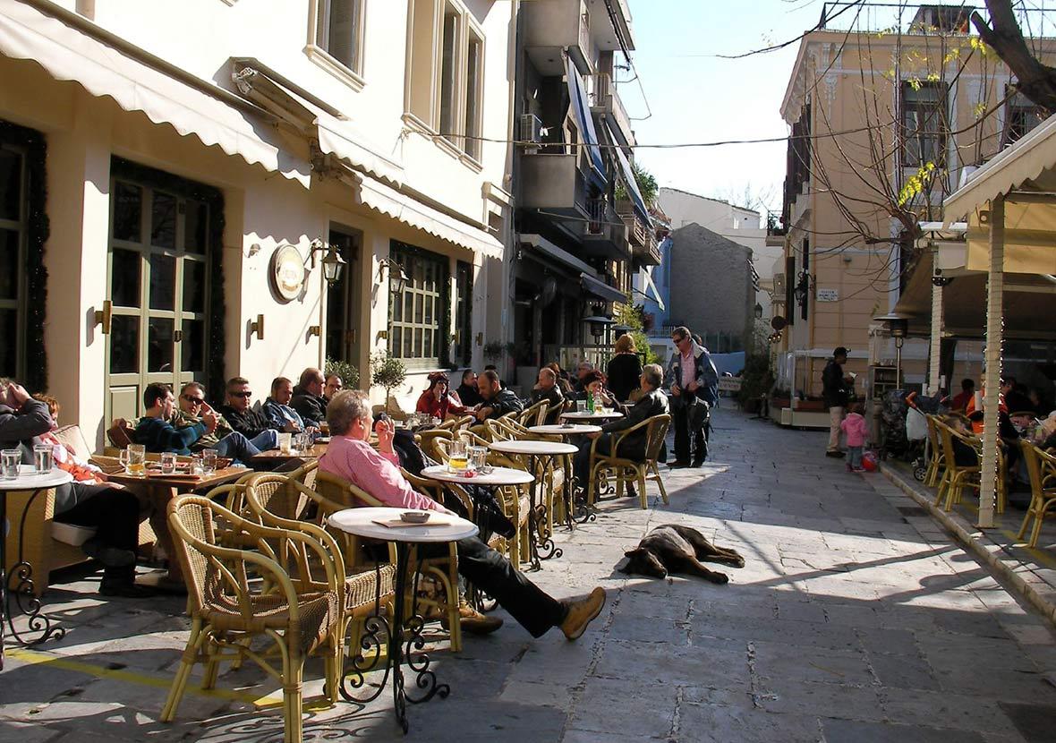 Mangiare ad Atene ristoranti taverne e cucina di strada
