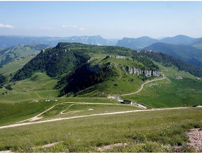 Percorso san valentino-corna piana - Fonte: Parco Locale del Monte Baldo