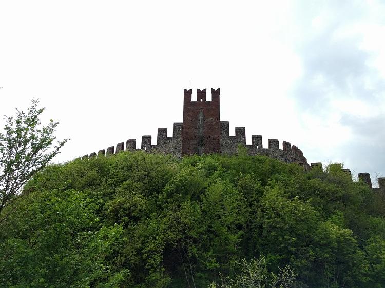 castello di Soave visto da fuori