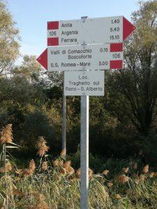 itinerari a piedi nelle valli di comacchio