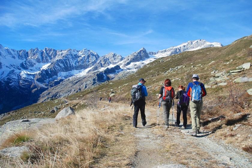 esperienze turistiche trekking in italia