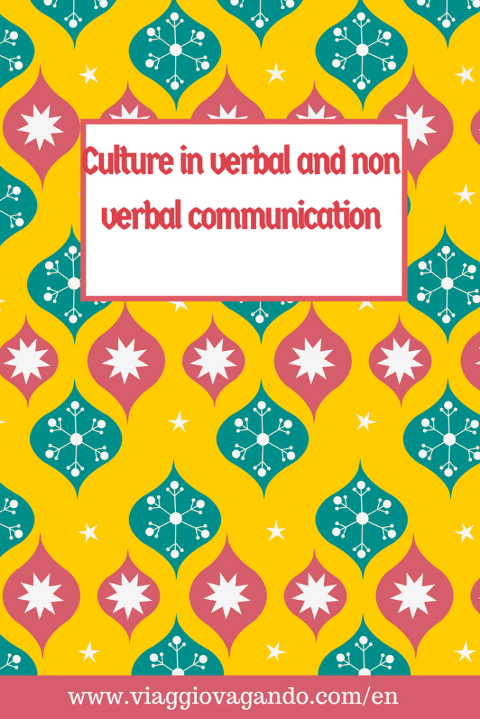 culture in verbal and non verbal communication