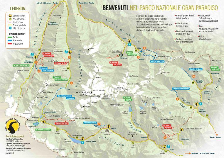 Parco nazionale del Gran Paradiso 2016 lAnno dei Cammini  Parchi  Viaggi per famiglie