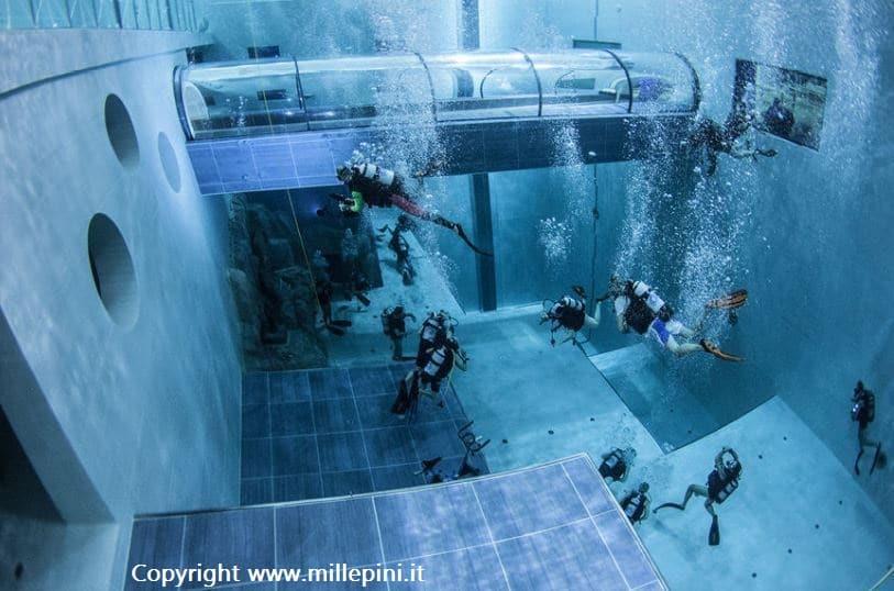 Immersione Diving nella piscina pi profonda del mondo  21 Gennaio 2018