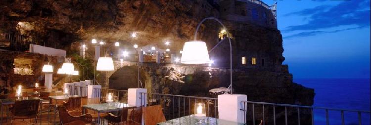 Hotel Ristorante Grotta Palazzere Polignano a Mare Bari