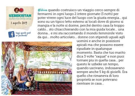 Diario di viaggio Uzbekistan 11