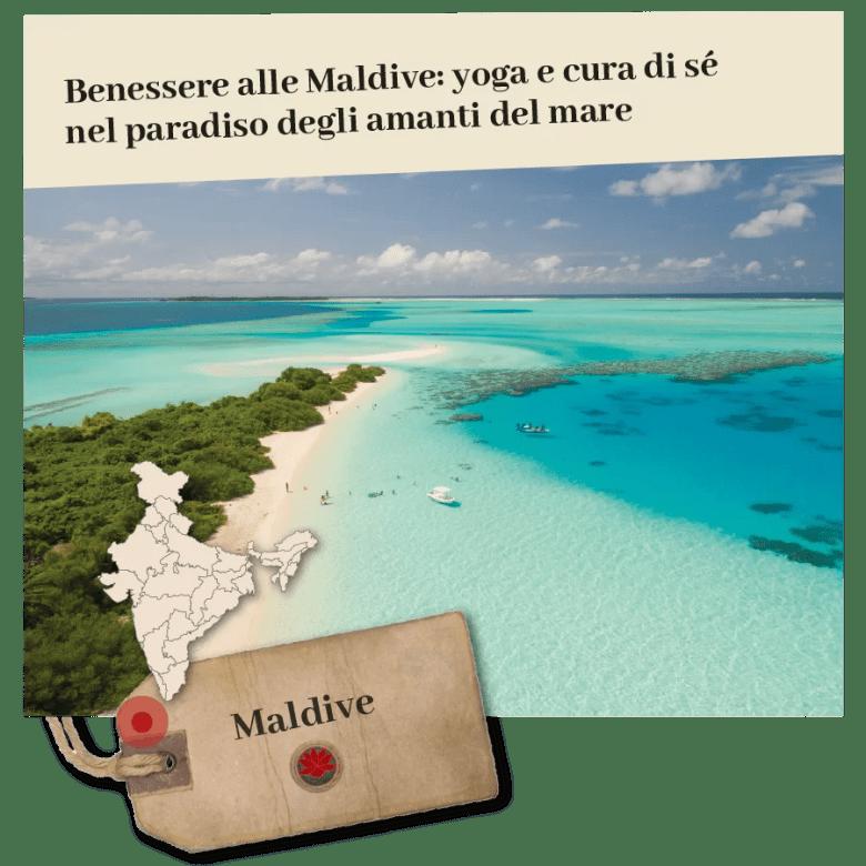 foto by Ishan Unsplash benessere alle maldive viaggi spiritualità e benessere