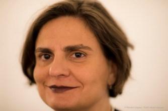 Angela Madesani, storica e critica d'arte, curatrice e autrice. Aosta, Aprile 2018