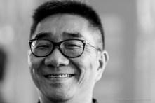 """Vincent Lin, direttore Chini Gallery, Taipei. Monza, giugno 2018. Nikon D810, 85 mm (85 mm ƒ/1.4) 1/125"""" ƒ/1.4 ISO 220"""