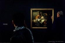 Franciscus Gijsbrechts (Bélgica, 1649-1676). Vanitas.. Olio su tela 134 x 115 x 6 cm. Koninklijk Museum voor Schone Kunsten, Anversa