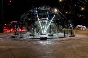 Mario Merz, Spostamenti della terra e della luna su un asse, 2003. Installation view, Pirelli HangarBicocca 2018. Photo: © Renato Corpaci