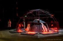 Mario Merz, Le case girano intorno a noi o noi giriamo intorno alle case?, 1994. Installation view Pirelli HangarBicocca 2018. Photo: © Renato Corpaci