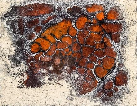 Franco Cardinali-Empreintes_1982_olio caseina e sabbia su tela_cm 28x32_ph. Luca Maccotta.jpg