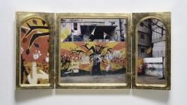 Chiara Dynys Non cíè nulla al di fuori, 2010 Vetro, oro, acciaio riflettente, 251 x 203 x 195 cm Collezione Volker W. Feierabend, Milano